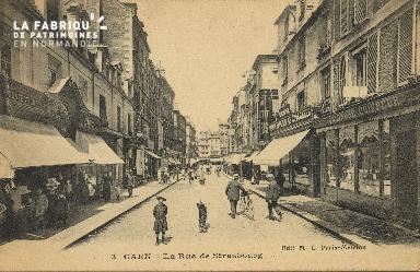 Cl 05 146 Caen- Rue de Strabourg