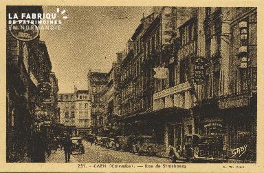 Cl 05 151 Caen- Rue de Strabourg