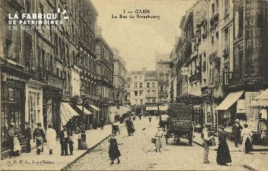Cl 05 153 Caen- Rue de Strabourg