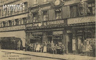 Cl 05 154 Caen- Rue de Strabourg, Maison J. LAUMAILLE