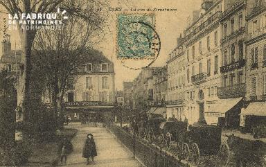 Cl 05 158 Caen- Rue de Strabourg