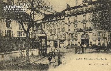 Cl 05 159 Caen- Hôtel de la Place royale