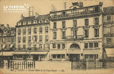 Cl 05 160 Caen- Grand Hôtel de la Place Royale