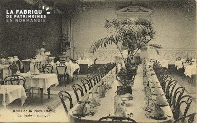 Cl 05 162 Caen-  Hôtel de la Place Royale- La salle à Manger