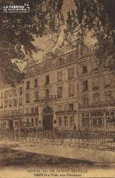 Cl 05 169 Caen- Hotel de la place royale (La ville aux Clochers)