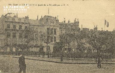 Cl 05 171 Caen- l'Hôtel de ville, place de la république