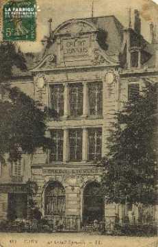 Cl 05 174 Caen- Le crédit Lyonnais
