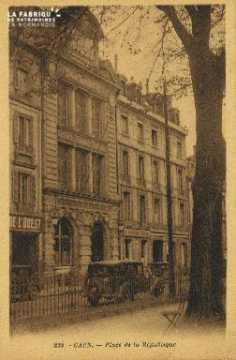 Cl 05 175 Caen- Place de la République