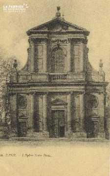 Cl 05 178 Caen- L'Eglise Notre-Dame