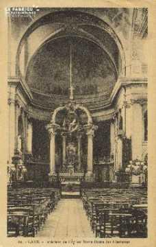 Cl 05 184 Caen- Interieur de l'Eglise Notre Dame des Gloriettes