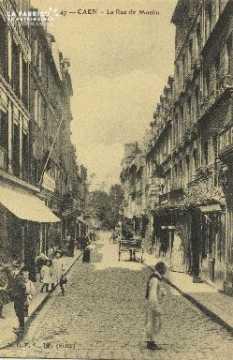 Cl 05 187 Caen- La rue du Moulin