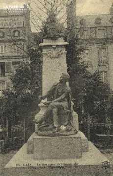 Cl 05 190 Caen- Le monument à Demolombe (Place de la république)