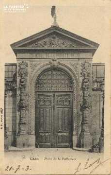 Cl 05 198 Caen- Porte de la préfecture