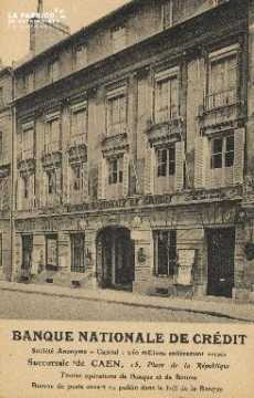 Cl 05 199 Caen- Banque Nationale de Crédit