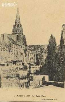 Cl 05 201 Caen en 1855 Les petits Murs