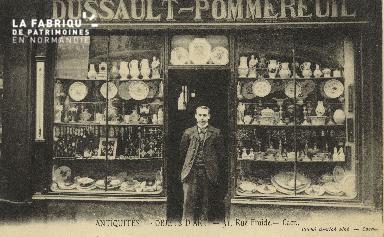 Cl 05 216 Caen-Antiquités - Objets d'Art- 31  Rue Froide