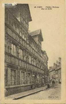 Cl 06 009 Caen-Vielles maisons rue de géôle
