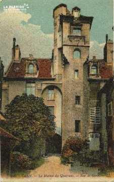 Cl 06 012 Caen-maison des quatrans-rue de géôle
