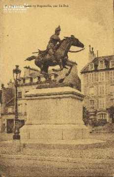 Cl 06 016 Caen-statue de duguesclin, par le due