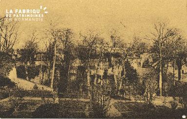 Cl 06 019 Caen-monastère des bénédictes du saint Sacrement-vue general