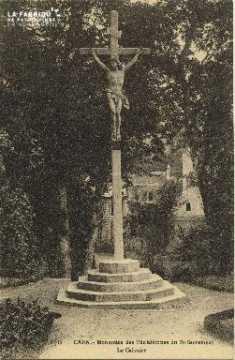 Cl 06 020 Caen-Monastère du St Sacrément-le Calvaire