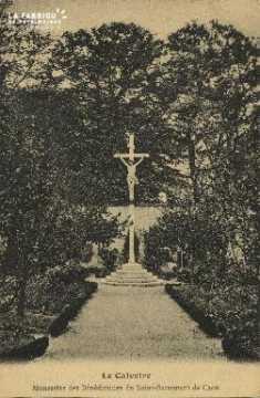 Cl 06 021 Caen Le Calvaire-monastère des bénédictes du St Sacrement