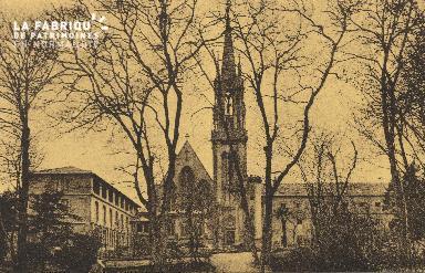 Cl 06 022 Caen-monastère des Bénédictines du st sacrément-Vue d'ensemb