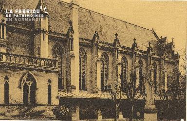 Cl 06 023 Caen-Monastère des Bénédictines du St sacrement-Eglise (côté