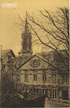Cl 06 026 Caen-monastère des bénédictines du St sacrement-Ancien bâtim