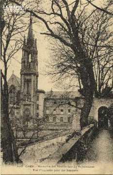 Cl 06 027 Caen-Monastère des bénédictines du St sacrement-Vue d'ensemb
