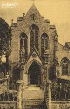 Cl 06 029 Caen-Portail de l'eglise du monastère des bénédictines du St
