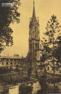 Cl 06 031 Caen-monastère des bénédictines du St sacrement-le clocher e