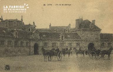 Cl 06 032 Caen-l'école de dréssage