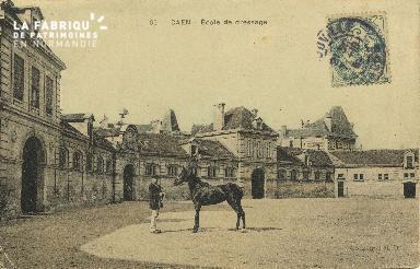 Cl 06 033 Caen-l'école de dréssage