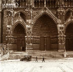 Amiens Cathédrale Portail