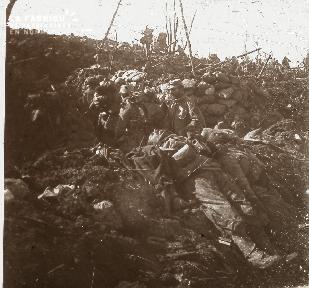 Aux Eparges 1915 Contre-attaque au point X 315