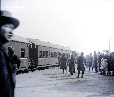 C001 Chine Le départ du train