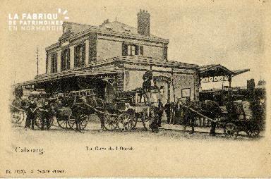 Cabourg La gare de l'Ouest