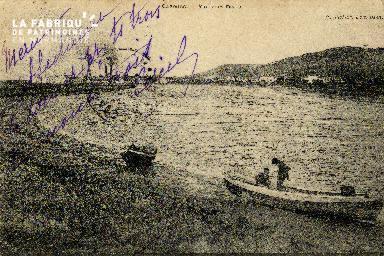 Cabourg Vue vers Dives sur Mer