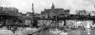 Granville panoramique du port