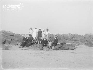 B001 Groupe sur la plage