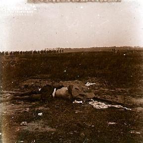 Cadavre sur le champs de bataille