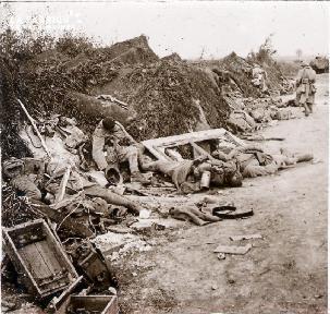 Prise de Courcelles 1918 2