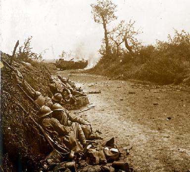 Prise de Courcelles 1918 3