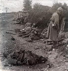 Prise de Courcelles 1918