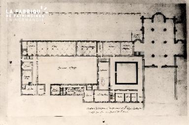 Plan du prieuré de St Vigor