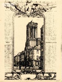 Caen- Eglise St Jean 1840