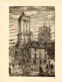Caen- Eglise st Jean Inondations 1859-60