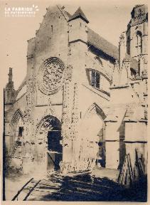 Caen-Façade Vieux St Etienne