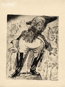 Caricature de Girat 1917